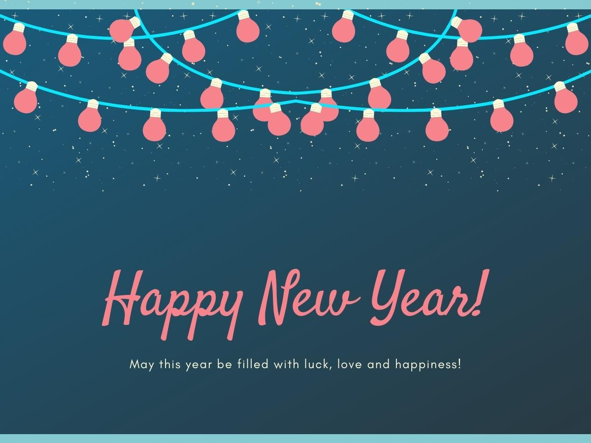 Happy New Year Messages for Teacher